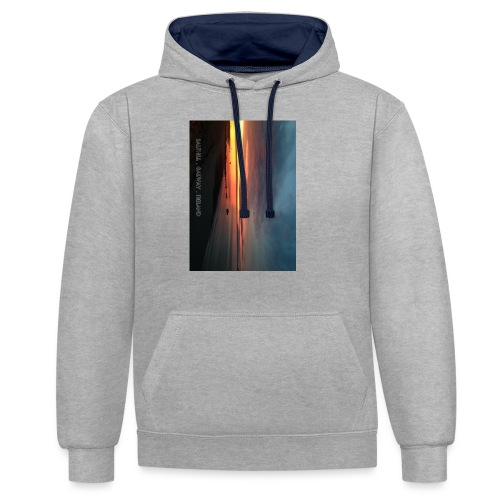 SALTHILL GALWAY - Contrast Colour Hoodie