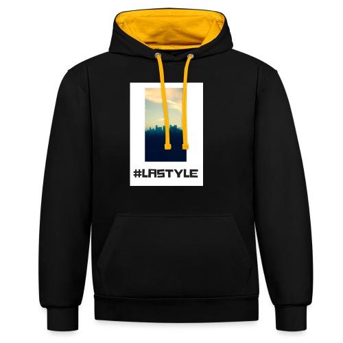 LA STYLE 3 - Contrast Colour Hoodie