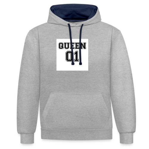 Queen 01 - Sweat-shirt contraste