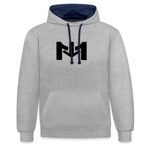 LOGO mousta - Sweat-shirt contraste