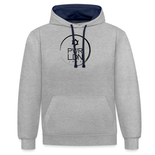 PWR LDN Logo - Contrast Colour Hoodie