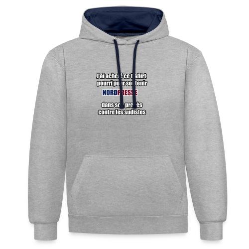 nordpresse - Sweat-shirt contraste