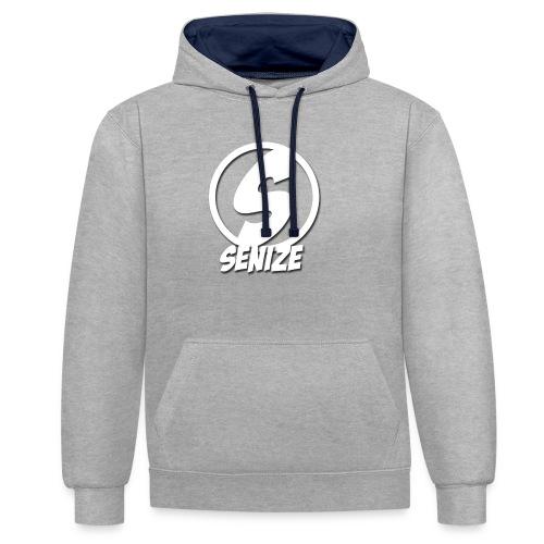 Senize - Contrast hoodie