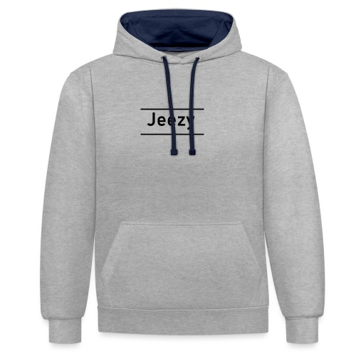 Jeezy - Contrast Colour Hoodie