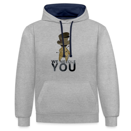 WE NEEDLE YOU - Sweat-shirt contraste
