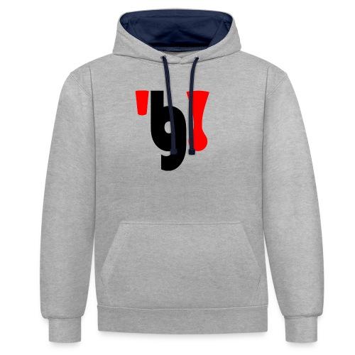 logo_klein - Contrast hoodie