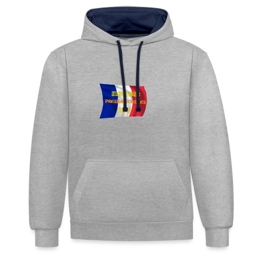 ELECTIONS 2017 - Sweat-shirt contraste
