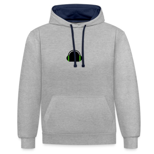 Game On - Contrast Colour Hoodie