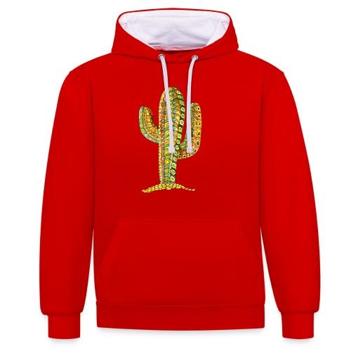 Le cactus - Sweat-shirt contraste