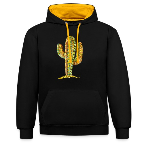 Le cactus - Sweat-shirt contraste