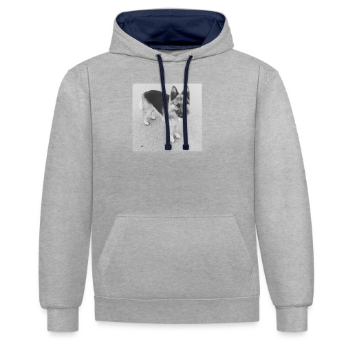 Ready, set, go - Contrast hoodie