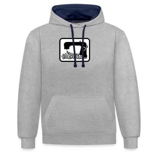 Labelerz One - Kontrast-Hoodie