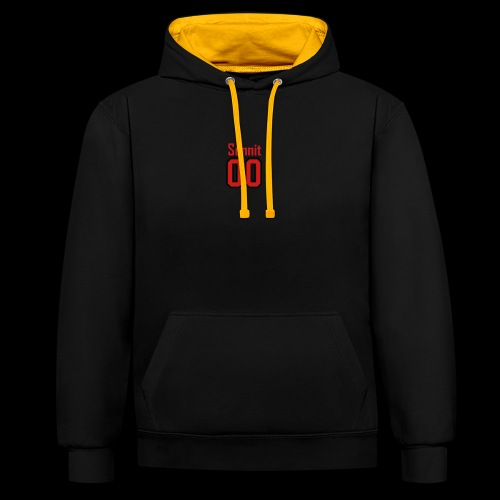 Sonnit Cloting 00 - Contrast Colour Hoodie
