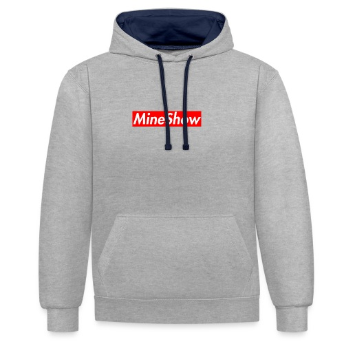 MineShow Box-Logo - Kontrast-Hoodie