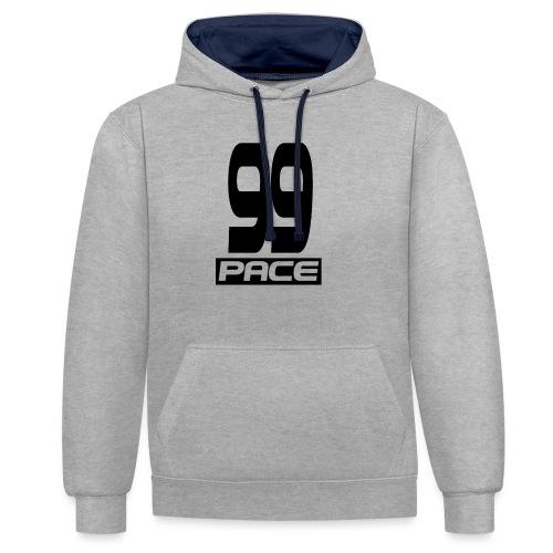 99 Pace Mok - Contrast hoodie