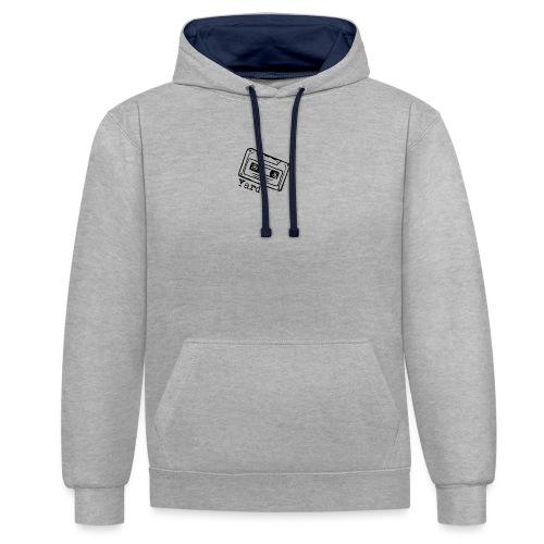 YARD recorder - Contrast hoodie