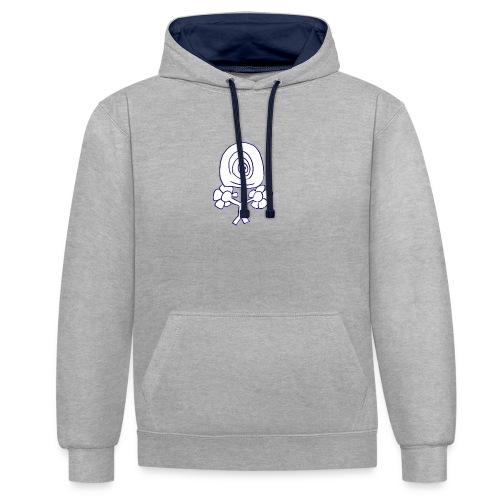 Poppetje 1 oog - Contrast hoodie