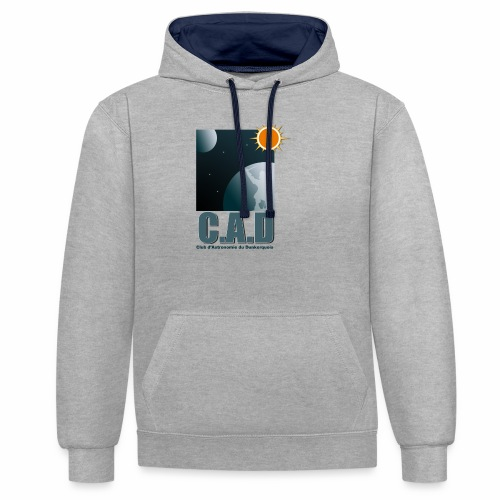 Logo CAD 2018 - Sweat-shirt contraste