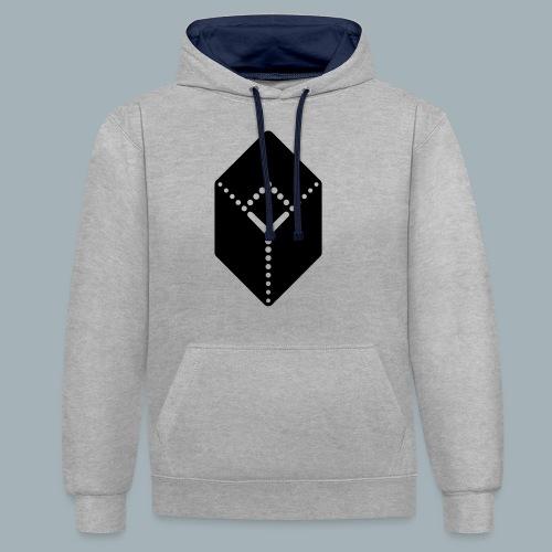Earmark Premium T-shirt - Contrast hoodie