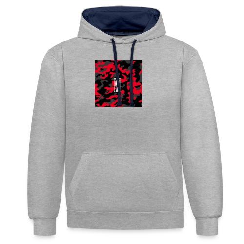 camo - Contrast hoodie