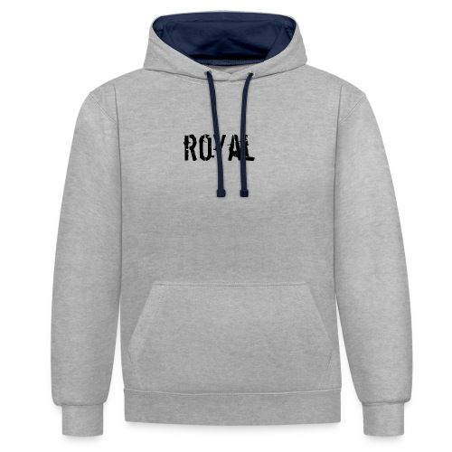 RoyalClothes - Contrast hoodie