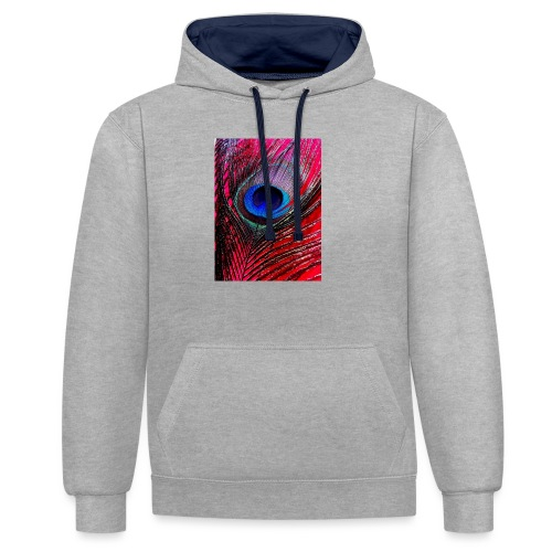 Beautiful & Colorful - Contrast Colour Hoodie