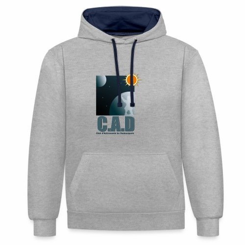 Logo CAD 2018 - Sweat-shirt contraste