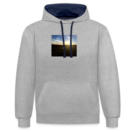 Image - Contrast Colour Hoodie
