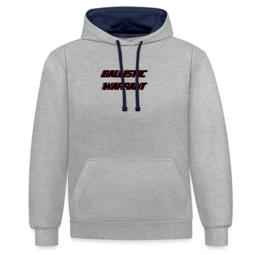 BallisticWarrrant - Contrast hoodie
