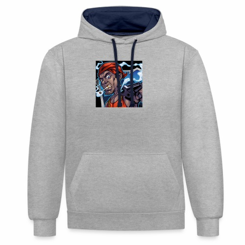 Crooks Graphic thumbnail image - Sweat-shirt contraste