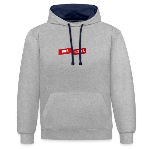 Vies Bitter - Contrast hoodie