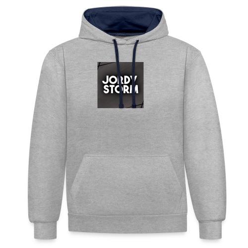 Storm Disign - Contrast hoodie