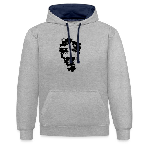 ALWAYS TIRED - Contrast Colour Hoodie