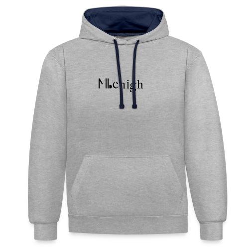 Milehigh Rags Logo Black - Kontrast-hettegenser