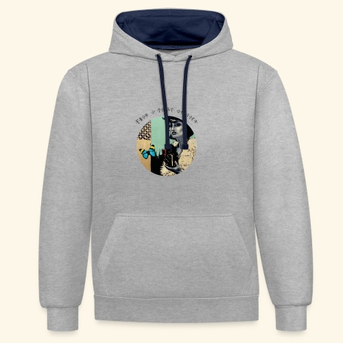 From a point of view rond - Sweat-shirt contraste