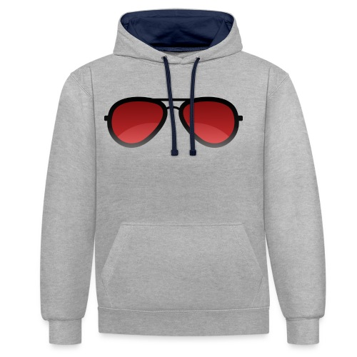 Enzed Sunglass - Sweat-shirt contraste