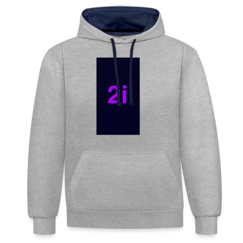 2i - Sweat-shirt contraste