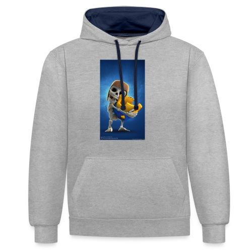 TheClashGamer t-shirt - Kontrast-Hoodie