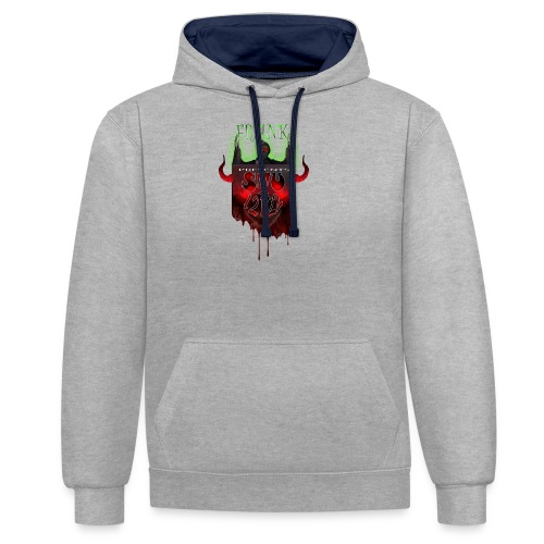 STU-Shirt-frank_4_cropped - Contrast Colour Hoodie