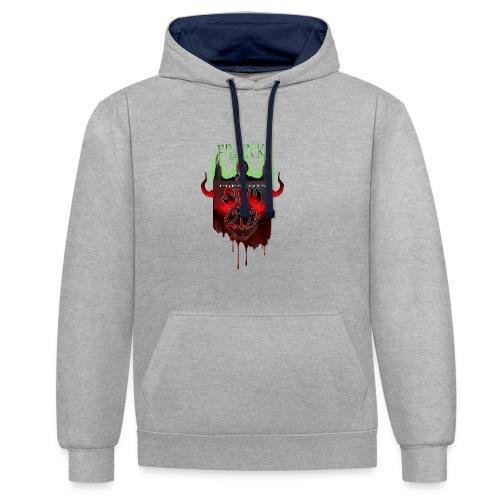 STU-Shirt-frank_4_cropped - Contrast Colour Hoodie