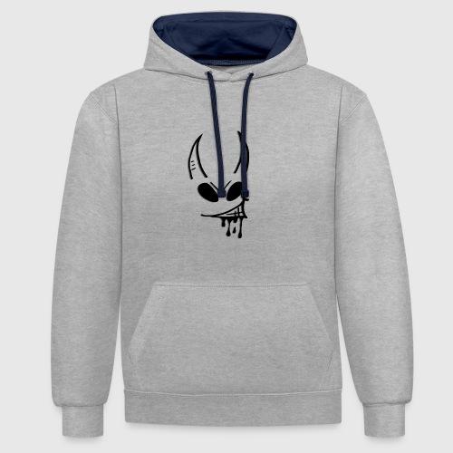 devil - Contrast hoodie
