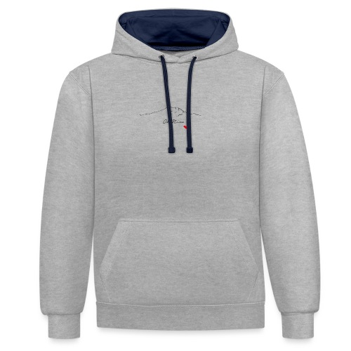 ohninecoeur - Sweat-shirt contraste