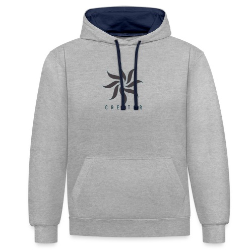 The creator (forgery merch) - Contrast Colour Hoodie