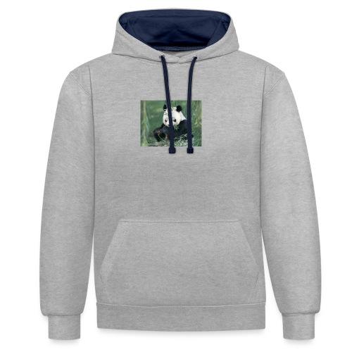wiiiiiiiiiiiiiiiiie - Contrast hoodie