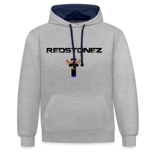 tshirt png - Contrast Colour Hoodie