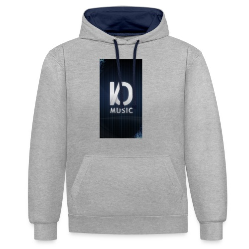 iphone6plus iomusic jpg - Contrast Colour Hoodie