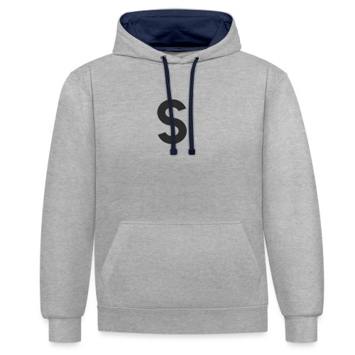 s - Sweat-shirt contraste