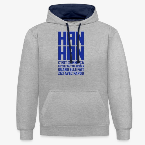 hanhan KK BITE - Sweat-shirt contraste