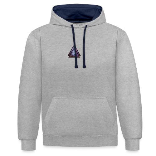 galaxy loumi - Contrast hoodie