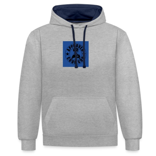 Codecop Approved 32 39mm 400DPI - Contrast Colour Hoodie